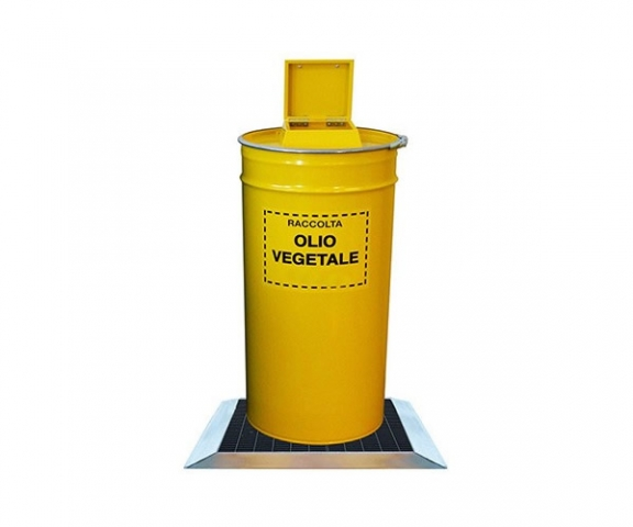 Contenitore olio vegetale usato lt. 100